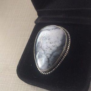 Jewelry - New Dendritic Opal stylish Ring